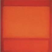 """Red, Orange, Red"" by Mark Rothko"