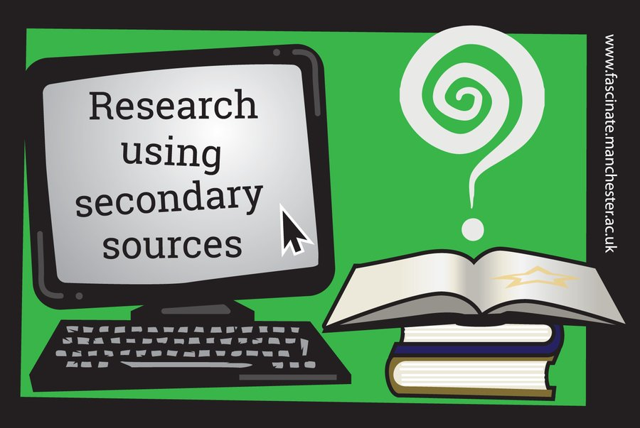 Researching with secondary sources