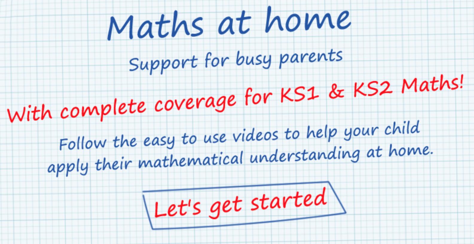 Maths at Home