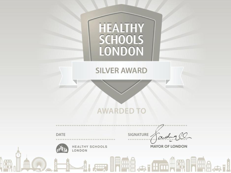Healthy Schools London - Silver Award