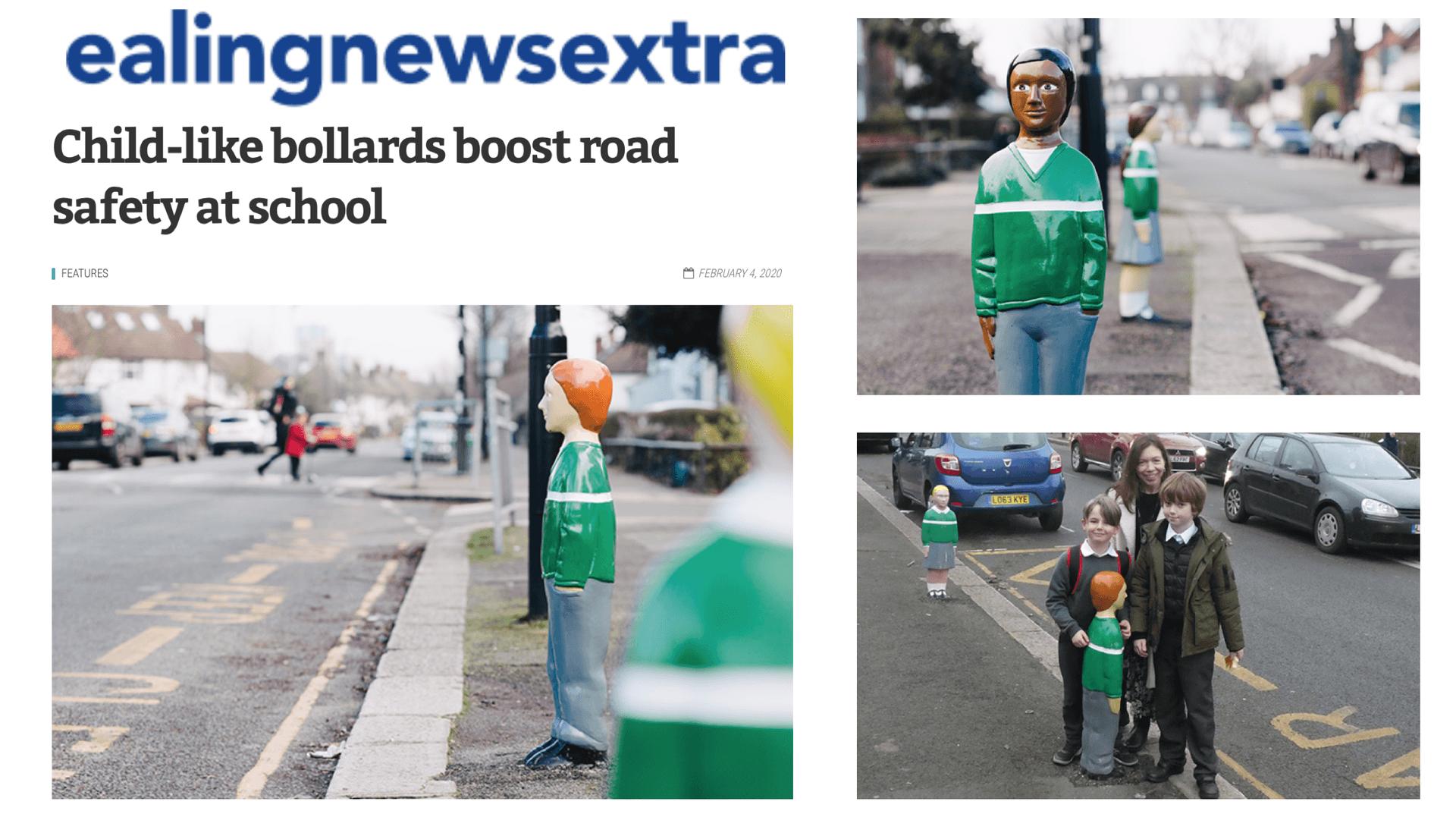 Ealing News Extra - Bollards