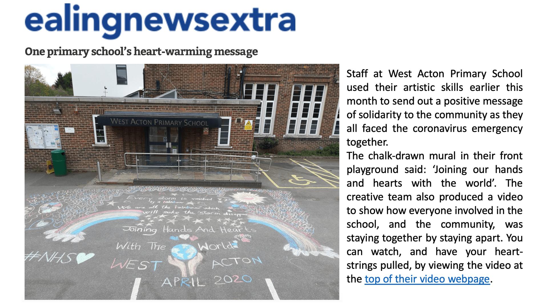 Ealing News Extra - Heartwarming