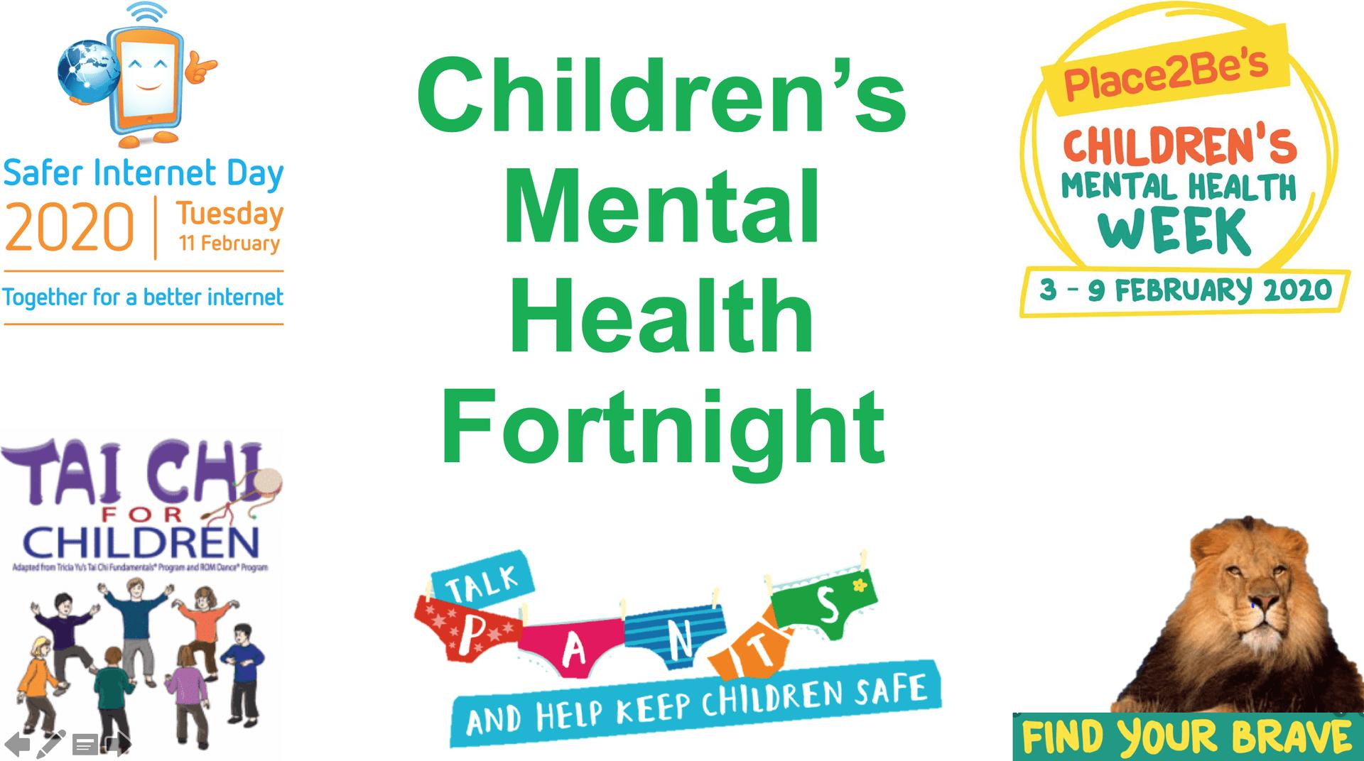 Children's Mental Health Fortnight