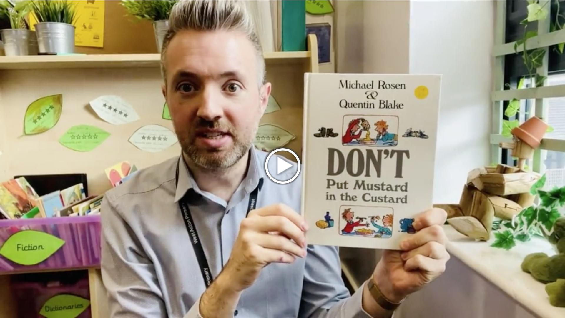 Don't Put Mustard in the Custard