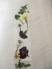 Izzy and Mya aged 8 and 6 years have made <br>these amazing flower book marks for their family