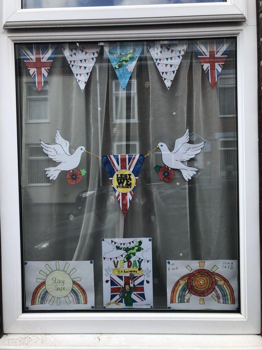Jorgie's VE window display