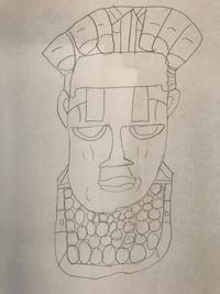 Leo's Benin mask