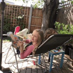 Jessica's enjoyed lots of reading
