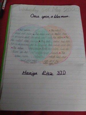 Haniya's Venn Diagram