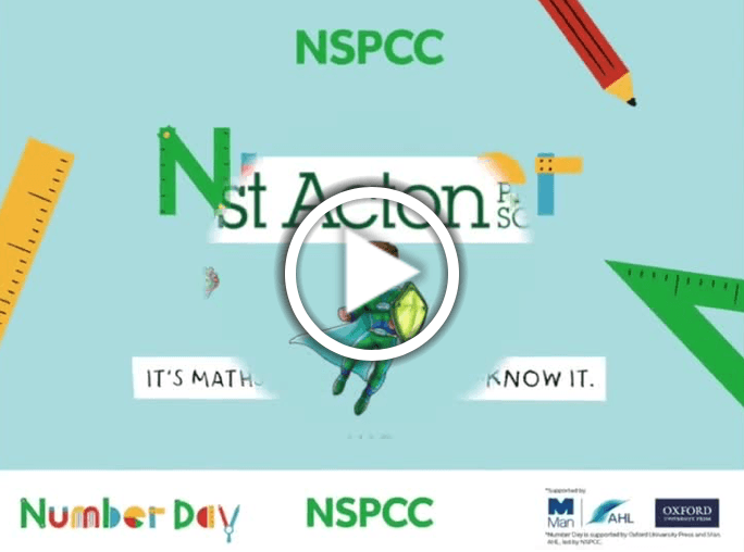 NSPCC Number Day vid pic