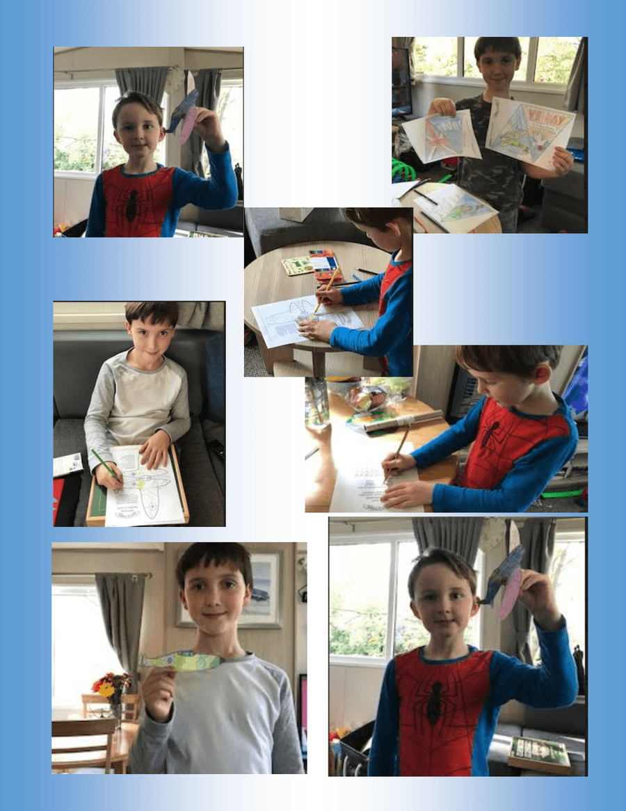 Harry and Joseph learning all about VE day and their family history. Double celebrations as Joseph celebrates his birthday on VE  Day. Happy 6th Birthday Jospeh!