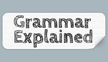 Grammar Explained
