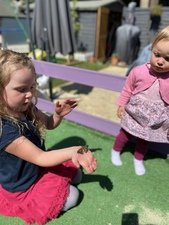 Millie, aged 6 and Bethany, aged 1<br>