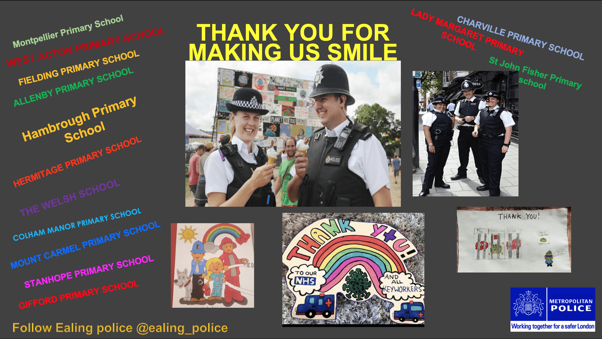 Police Thank You