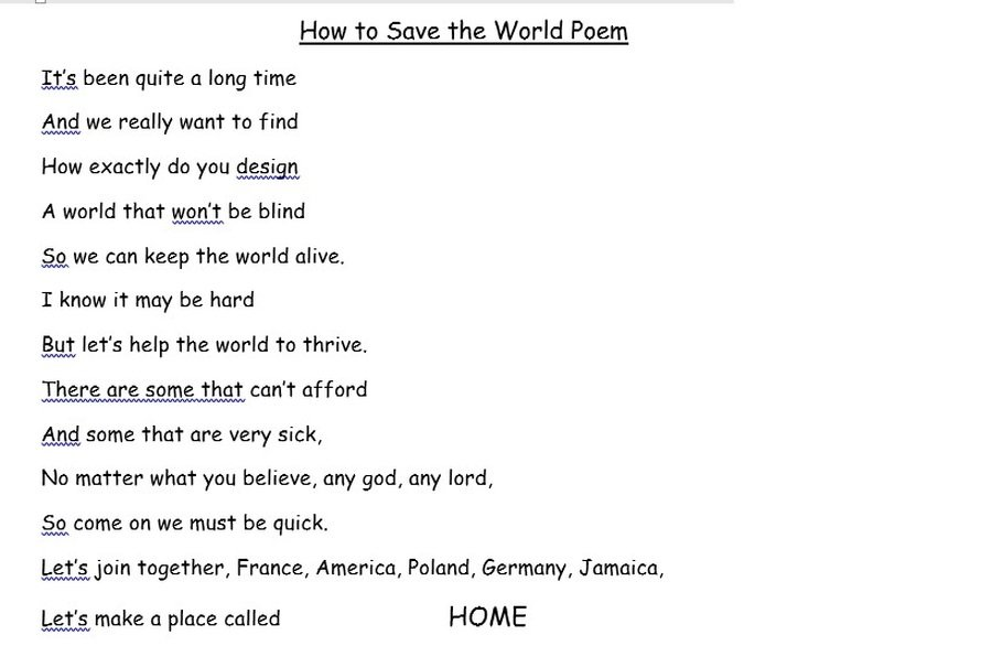 EWA'S POEM REALLY CAPTURES THE MOOD RIGHT NOW! WELL DONE, EWA!