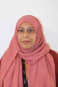 Ambia Rana<br>Teaching Assistant