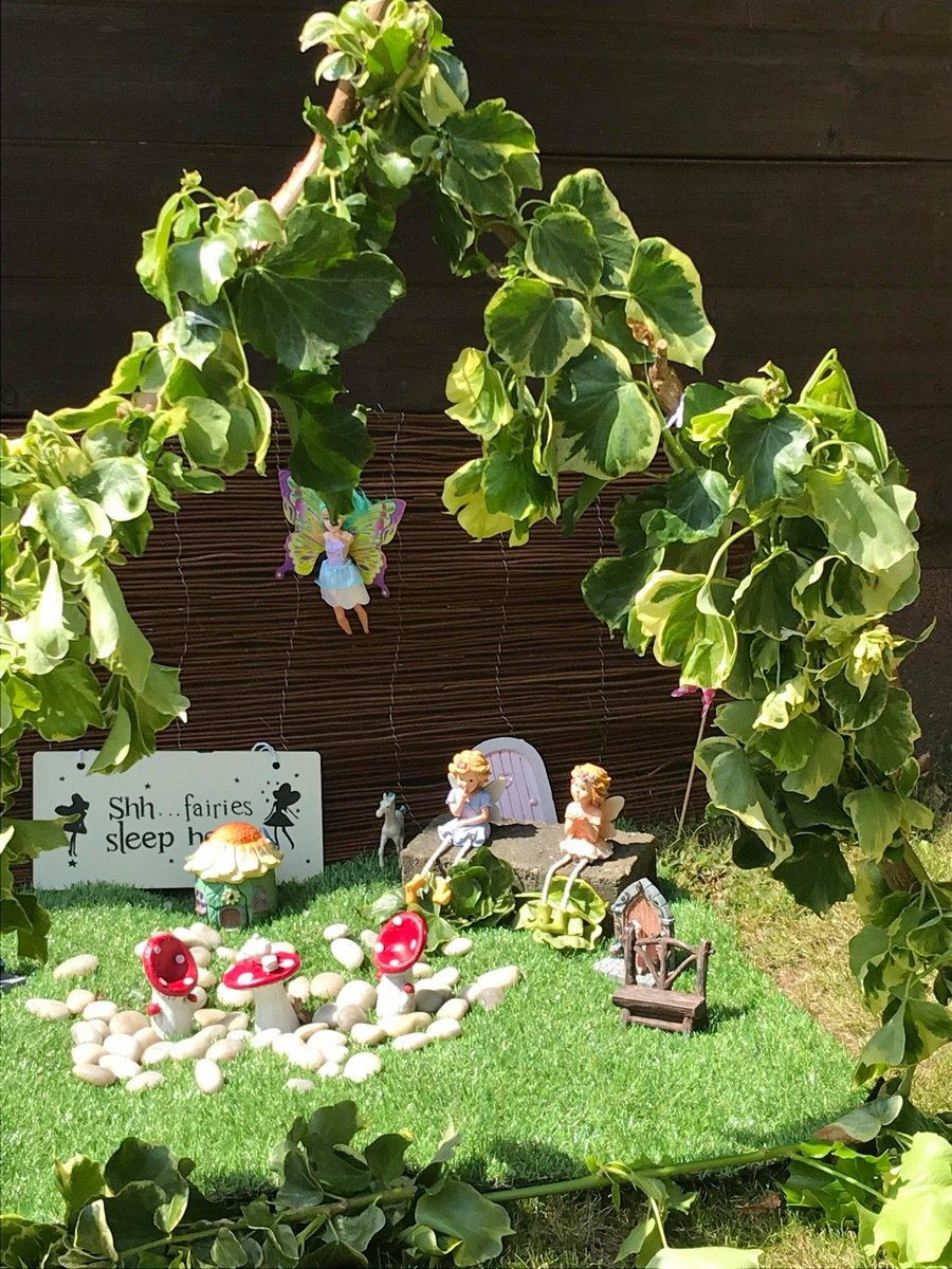 Fairies at the bottom of the garden!