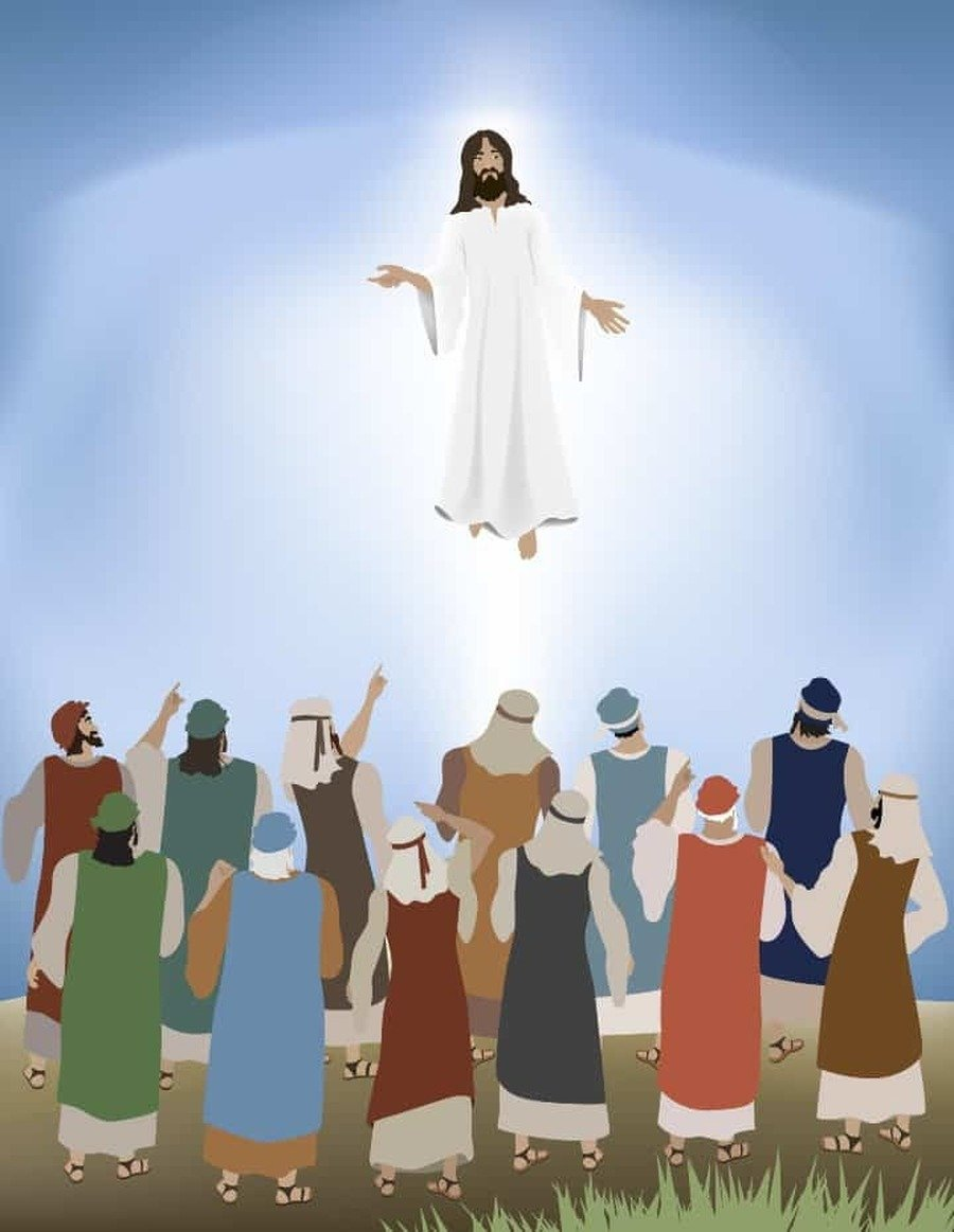 The Ascension of our Lord Jesus Christ  - 40 days after Easter