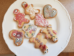 Jessica (Year 3) Decorated biscuits
