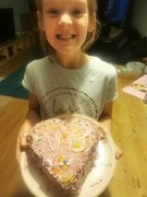 Lily (Year 4) NHS cake