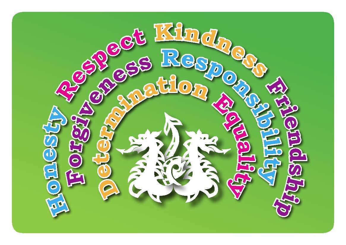 Chapel End Junior Academy Life Values card