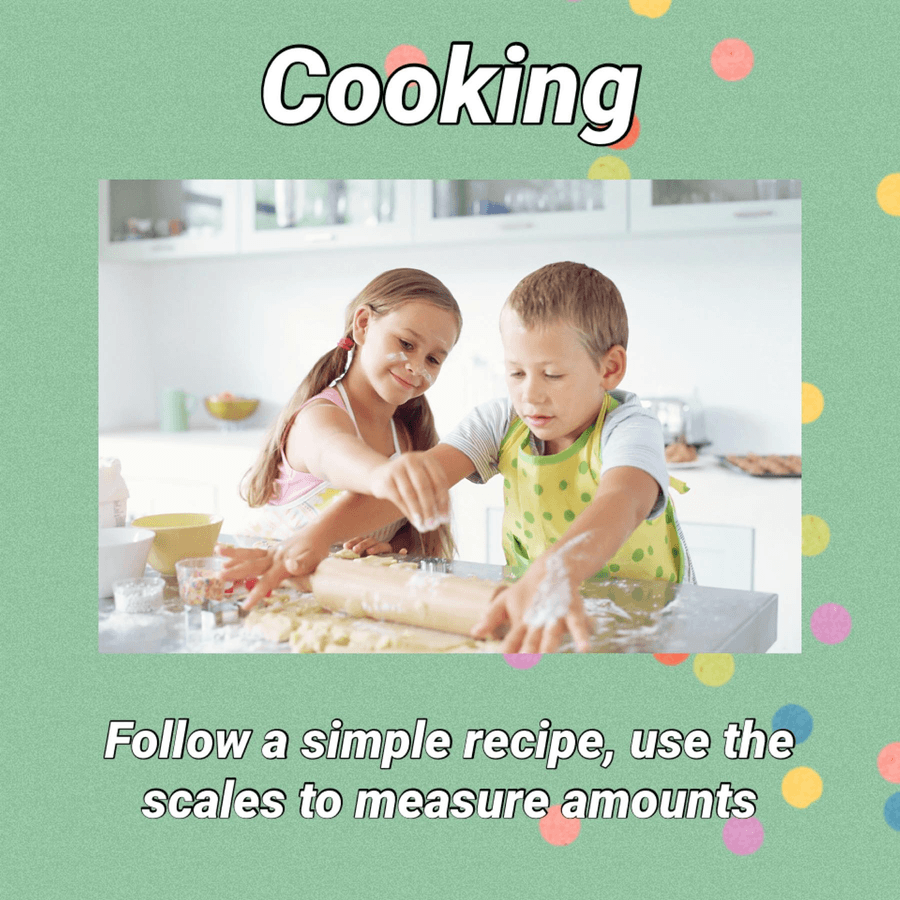I can't wait to see what scrumptious things you make.