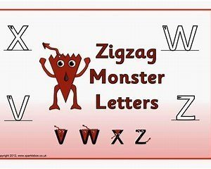 Image result for monster letter Families