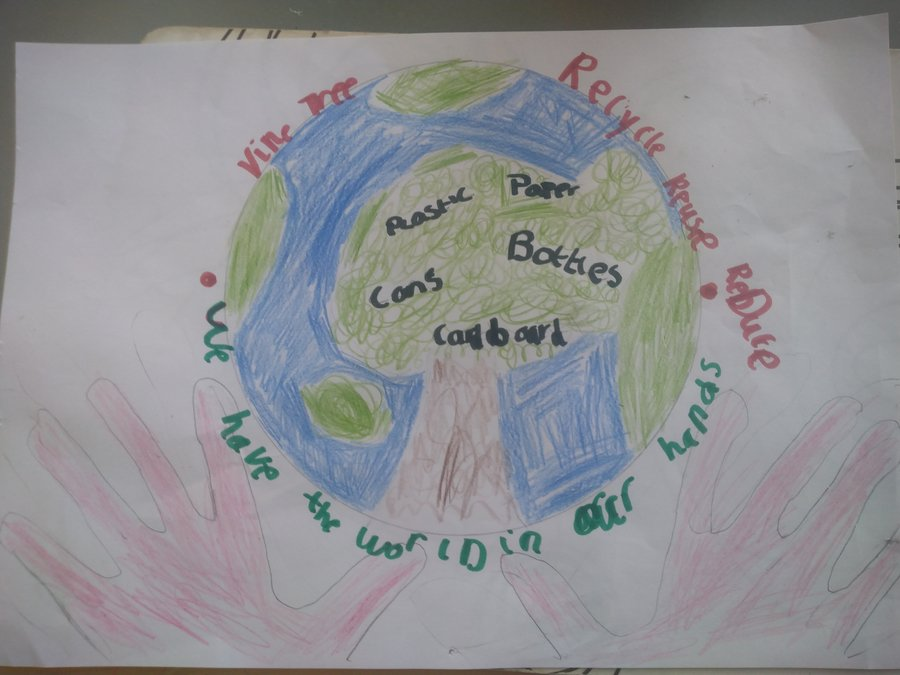 Charlie Cunningham Y2 fantastic recycling poster
