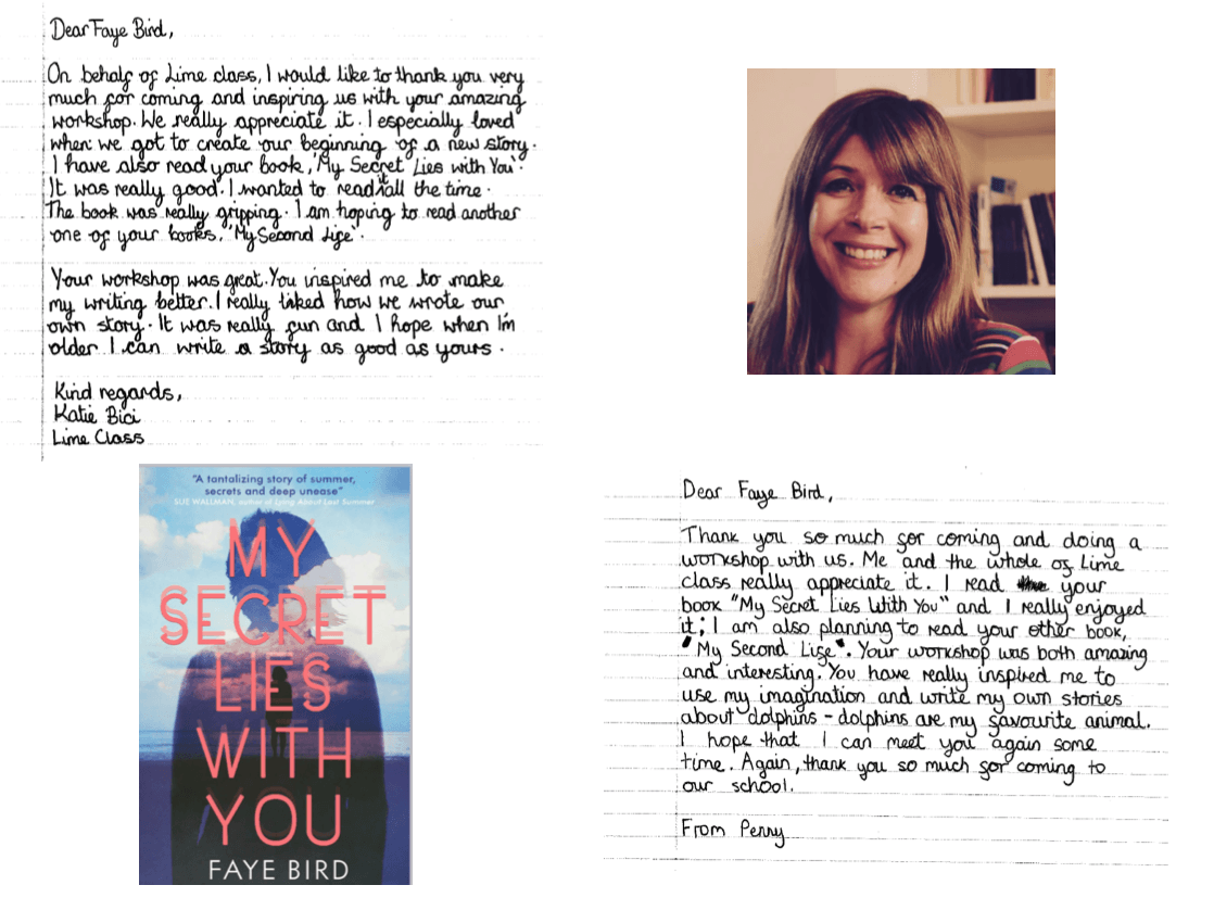 Faye Bird - Author Visit