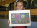 Kandinsky's circles inspired work.