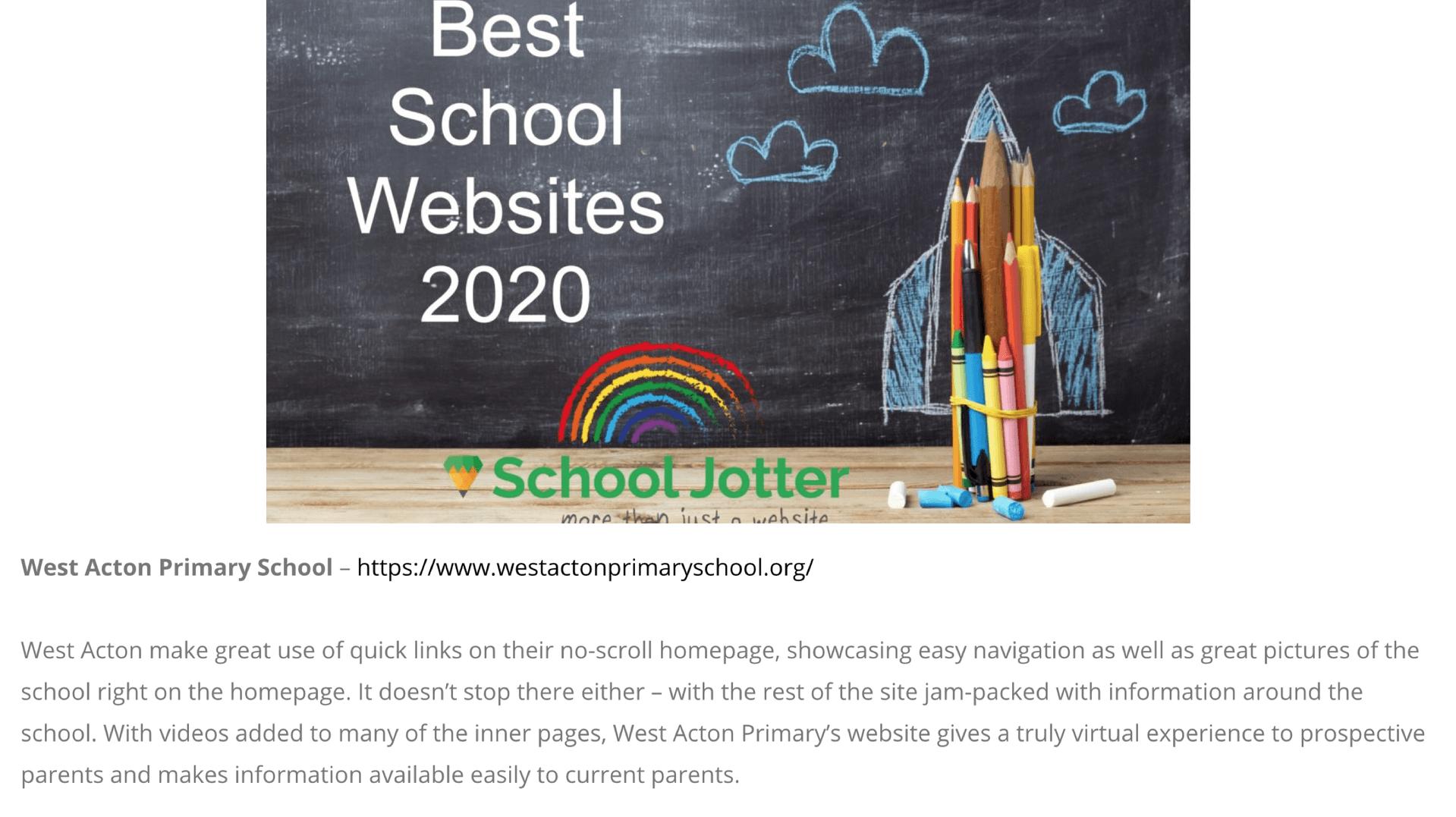 Best School Website 2020
