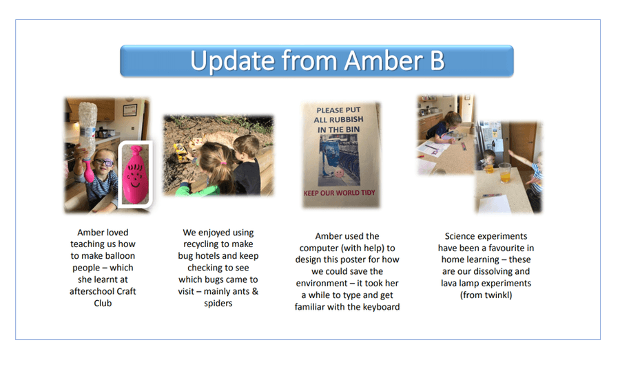 Update from Amber Year 1