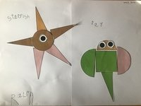 Ralph's 2D shape sea creatures