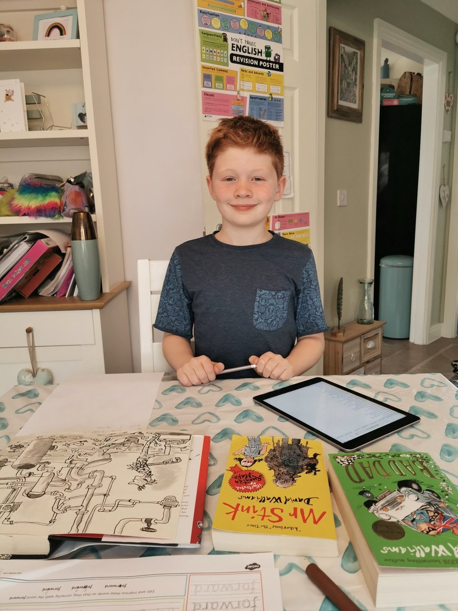 Ben reviewing some of David Walliams books
