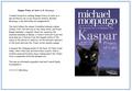 'Kaspar Prince of Cats'<br>