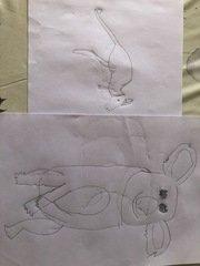 Molly's drawings.JPG