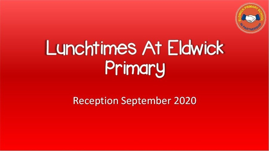 A short video about lunchtimes at school