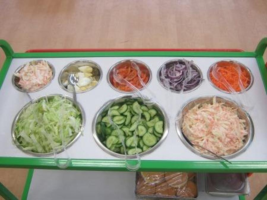 Salad Trolley