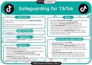 Safeguarding for TikTok