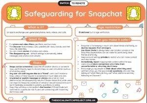 Safeguarding for Snapchar