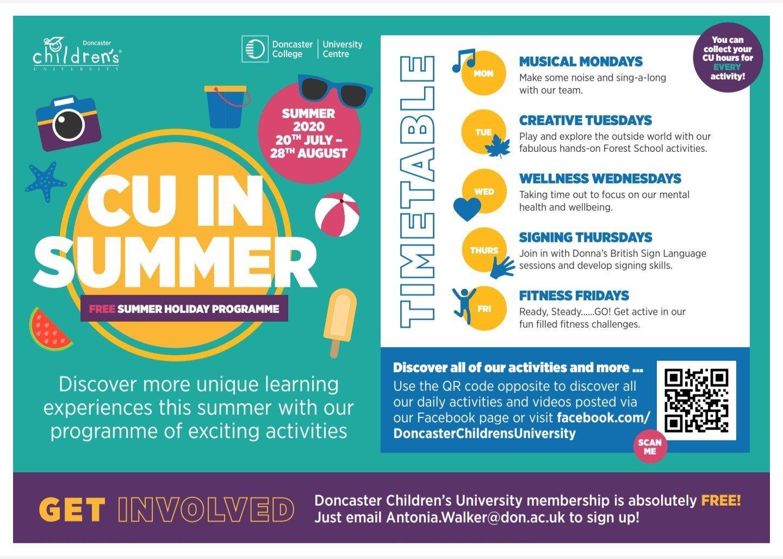 CU Summer Activities