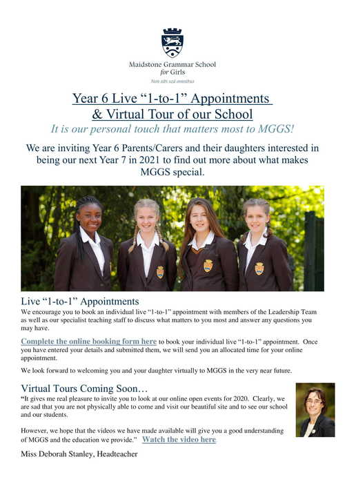 MGGS Year 6 Live 1-to-1 Appointments and Virtual Tour 2020-1.jpg