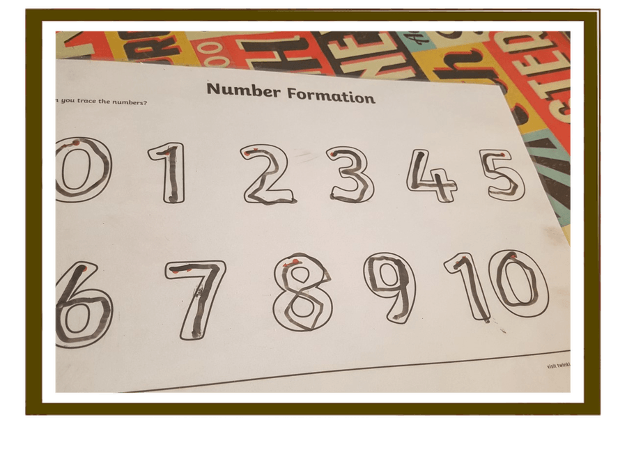 Super number formation from Dexter.