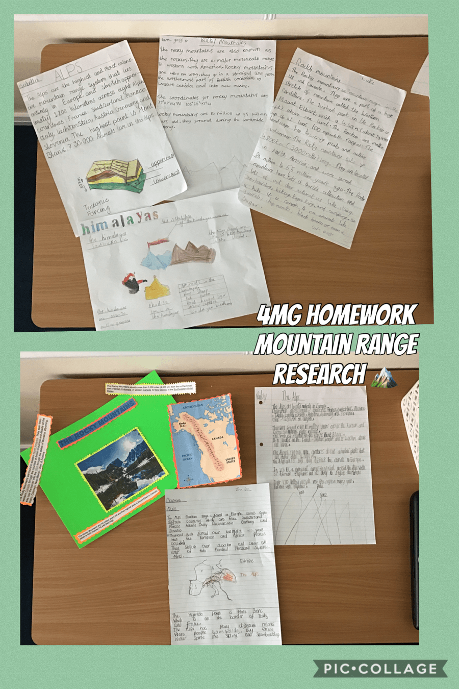 WOW! Amazing homelearning!