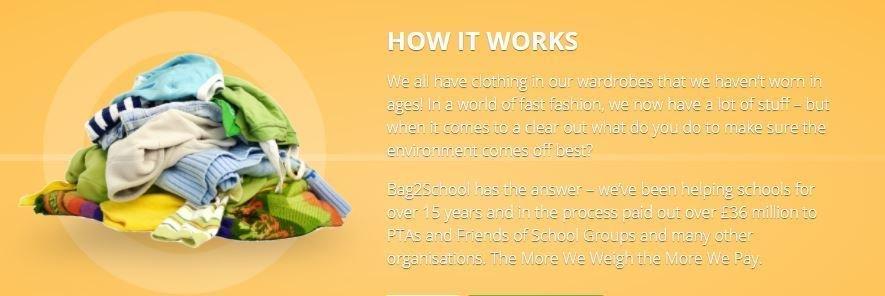 Bags 2 School - How it Works