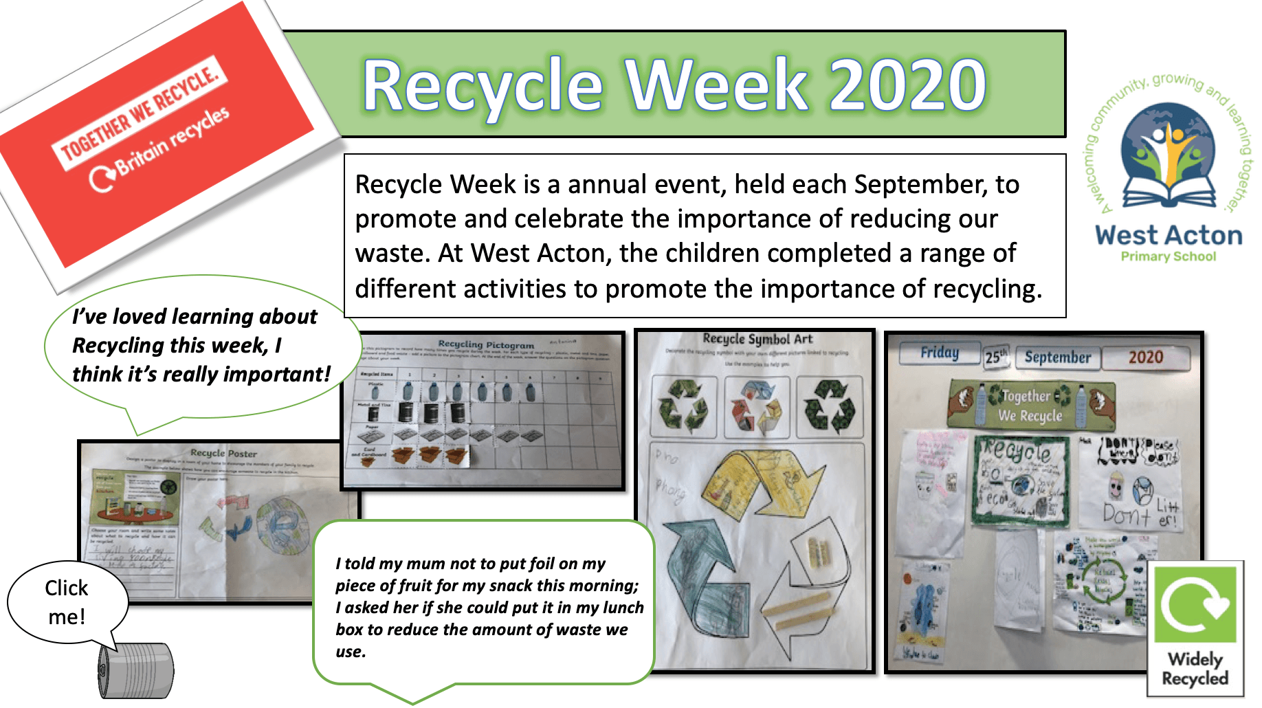 Recycling Week 2020