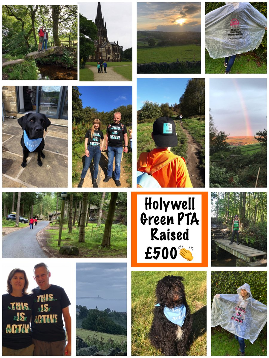 Well done and thank you to all the children, parents and grandparents who took part in the Move The Calderdale Way Challenge. They have managed to raise £500! Fantastic!!