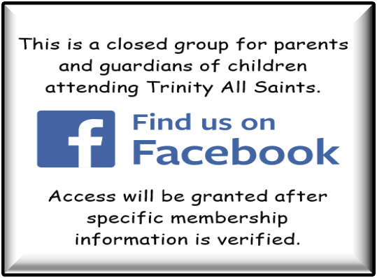 Trinity All Saints Closed Facebook Group
