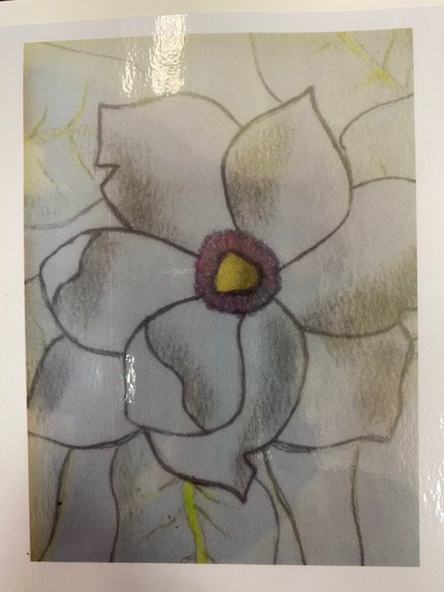 2020 - Jamie's super flower drawing.