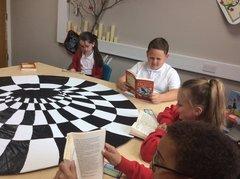 Reading in Wonderland!